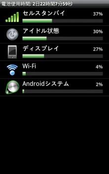 BatteryView 電池を使っている項目の一覧