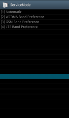 SC-06D GALAXY S3 ServiceMode BAND SELECTION